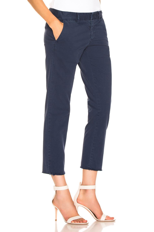Image 2 of NILI LOTAN East Hampton Pant in Vintage Blue