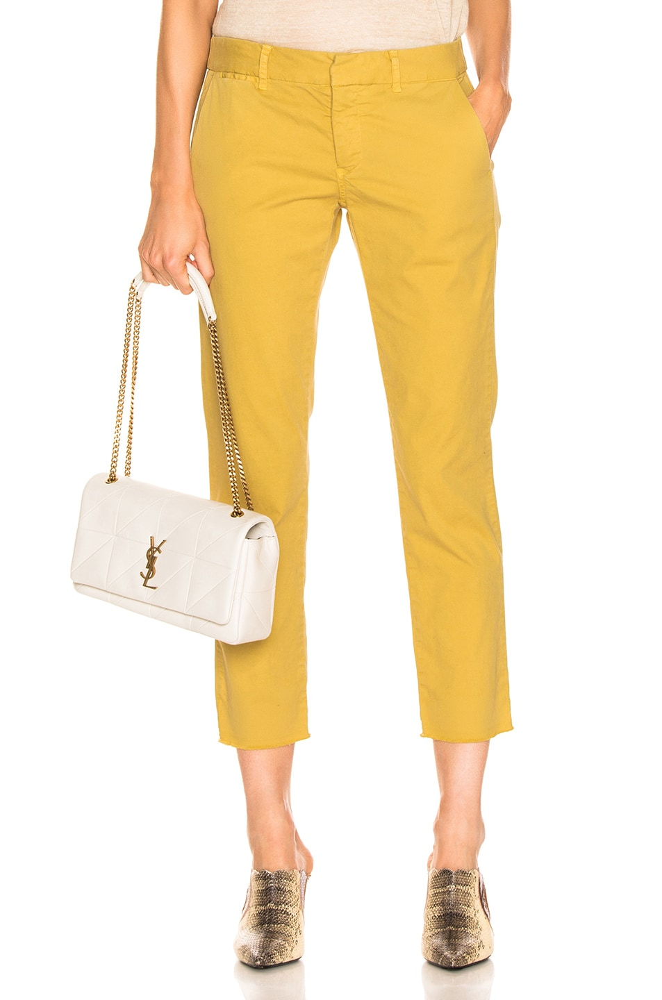 Image 1 of NILI LOTAN East Hampton Pant in Golden Yellow