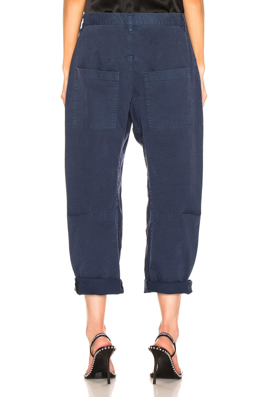 Image 3 of NILI LOTAN Shon Pant in Vintage Blue