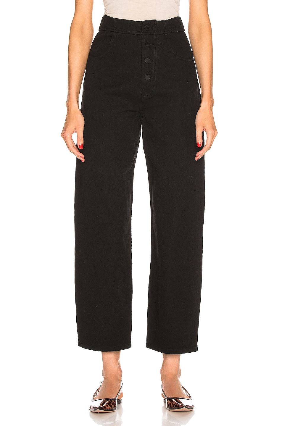 Image 1 of NILI LOTAN Toledo Pant in Jet Black