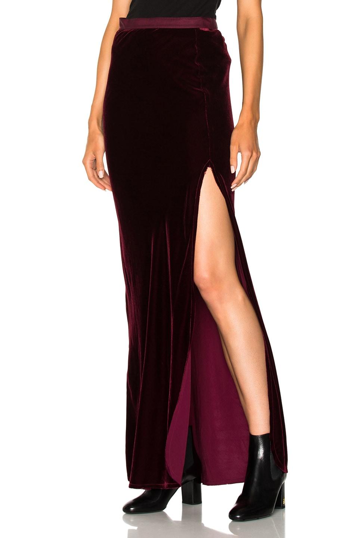 Maya Maxi Skirt, Red