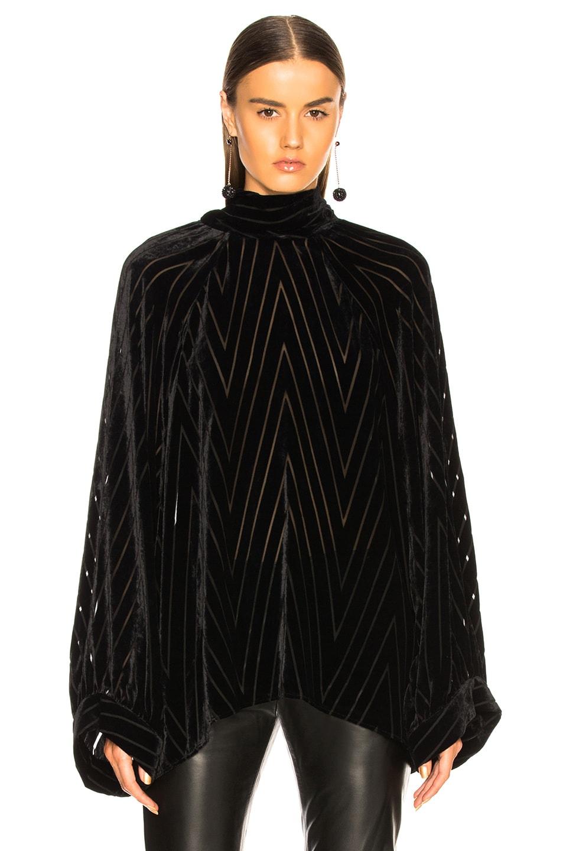 Image 2 of NILI LOTAN Elianna Top in Black