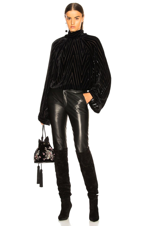 Image 5 of NILI LOTAN Elianna Top in Black