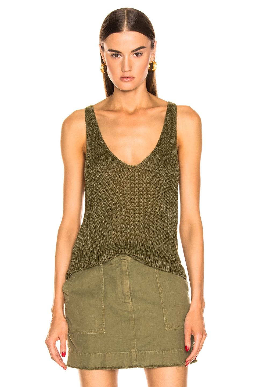Image 1 of NILI LOTAN Nala Knit Top in Olive