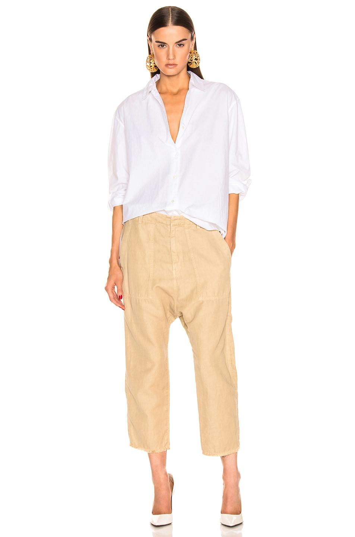 Image 4 of NILI LOTAN Yorke Shirt in White