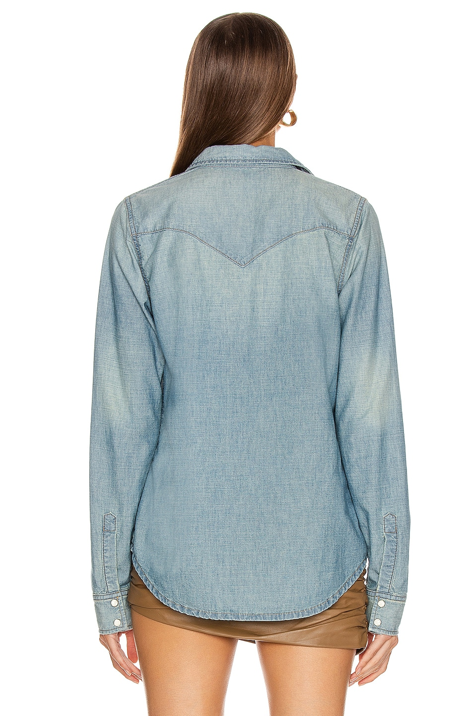 Image 3 of NILI LOTAN Owen Shirt in Sunset Wash