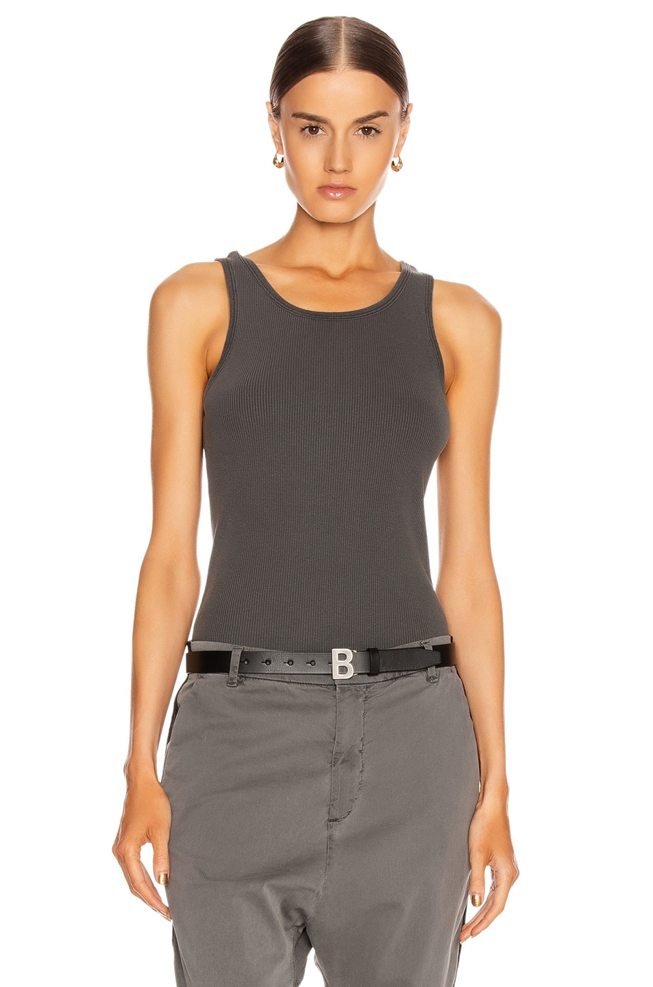 Image 1 of NILI LOTAN Coana Top in Gunmetal