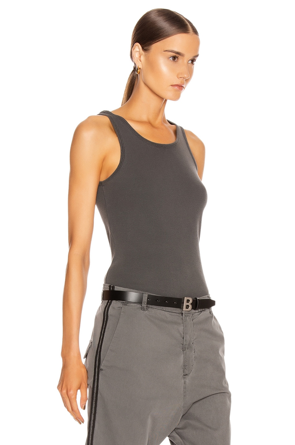 Image 2 of NILI LOTAN Coana Top in Gunmetal