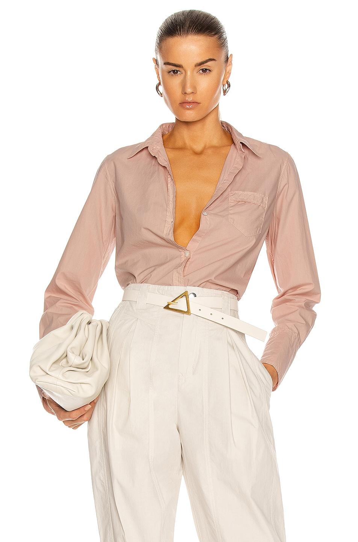 Image 1 of NILI LOTAN NL Shirt in Dusty Pink