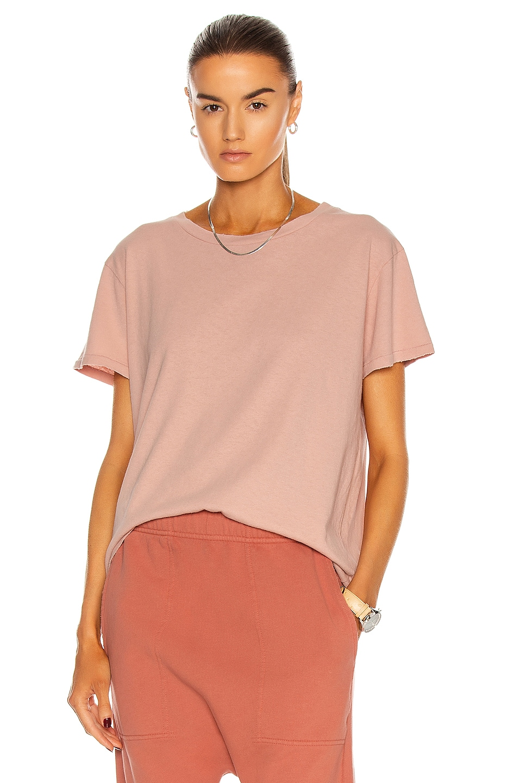 Image 1 of NILI LOTAN Brady Tee in Dusty Pink