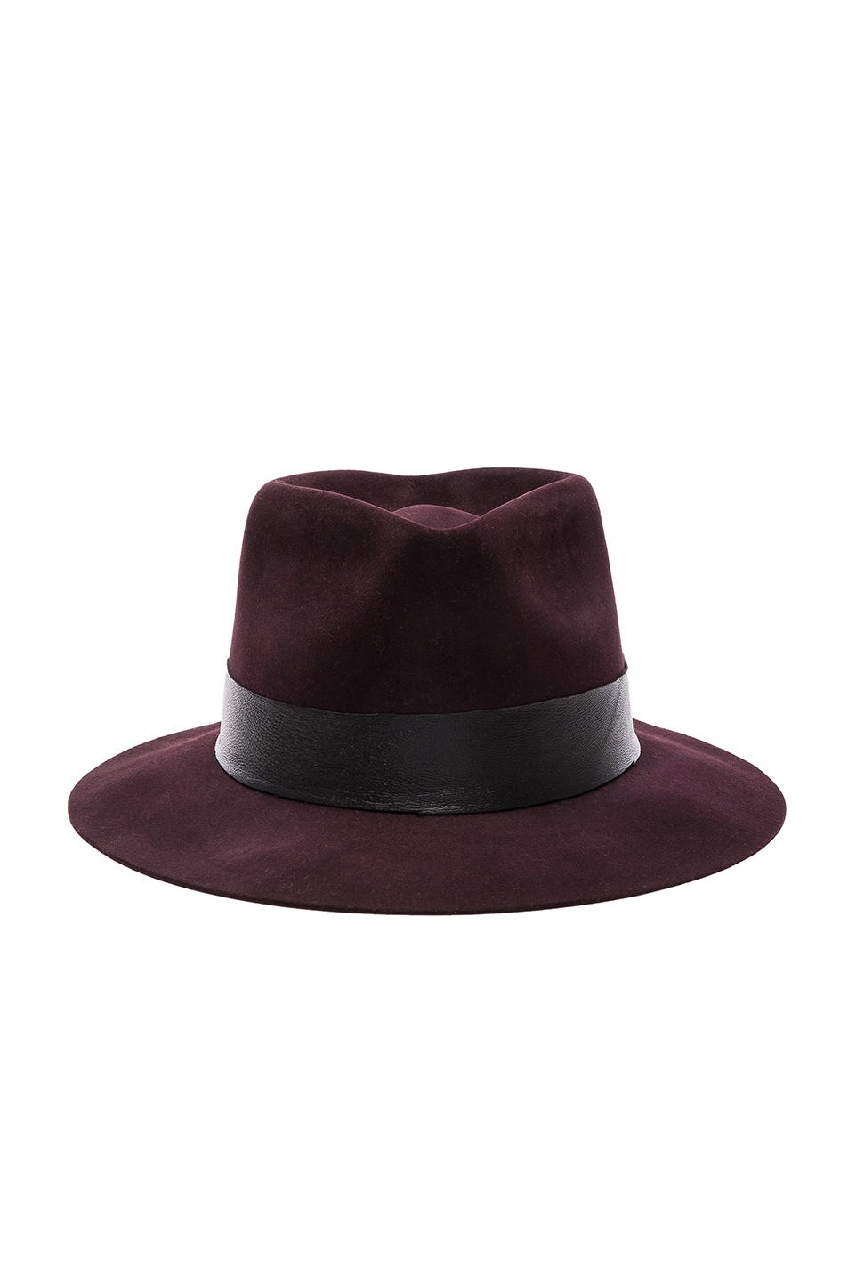 Image 1 of Nick Fouquet for FWRD Meritime Fedora in Black Cherry