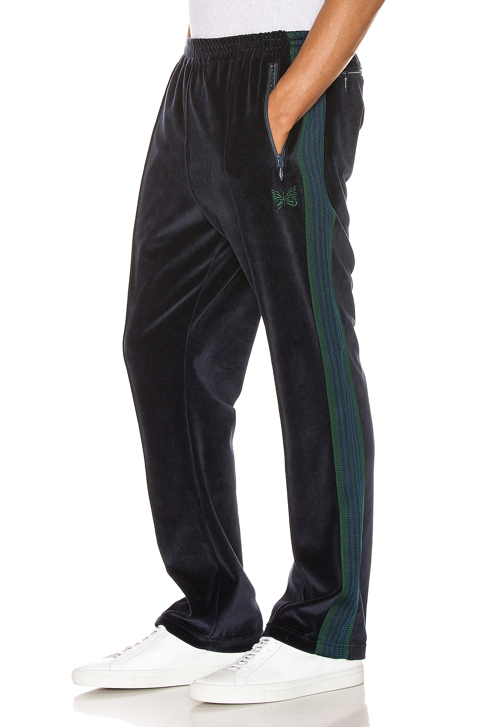 Image 1 of Needles Narrow Track Pant in Navy