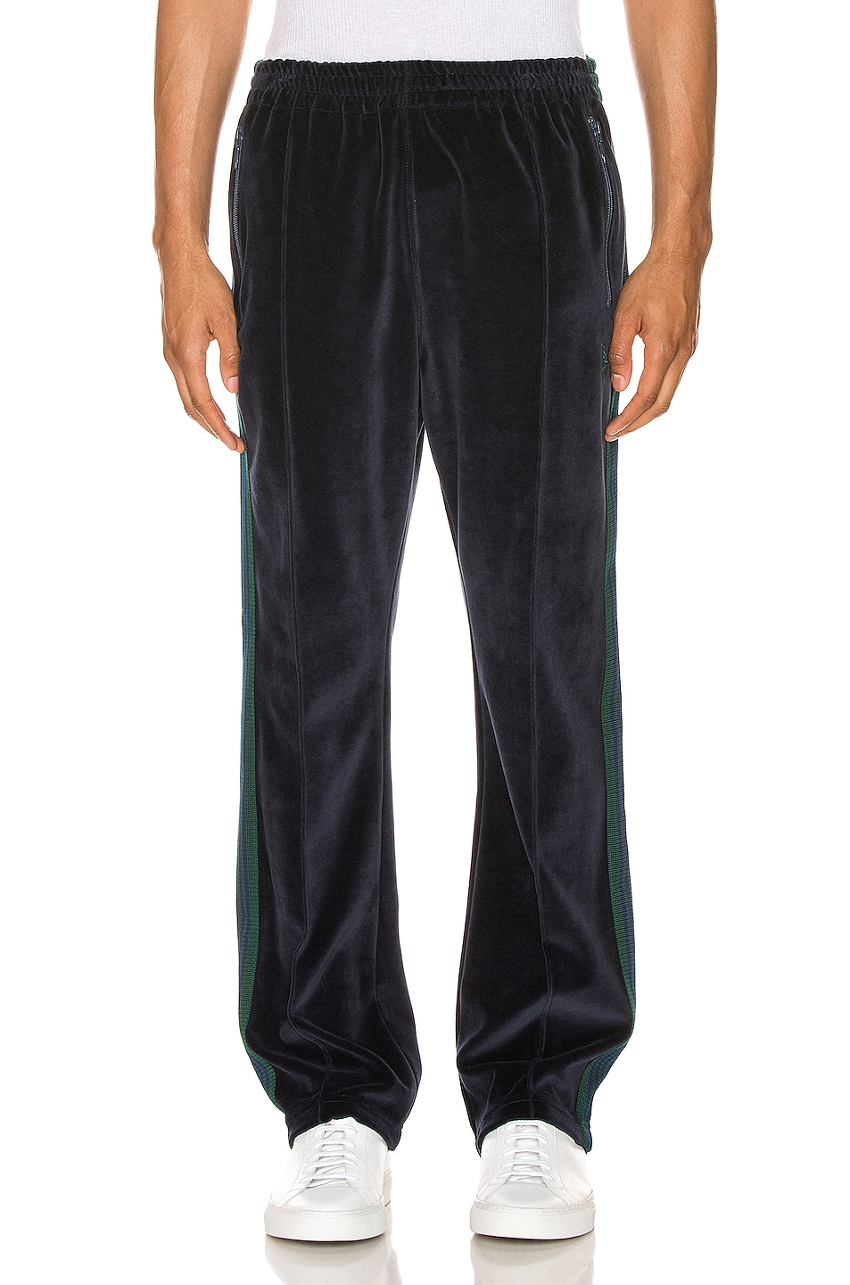 Image 2 of Needles Narrow Track Pant in Navy