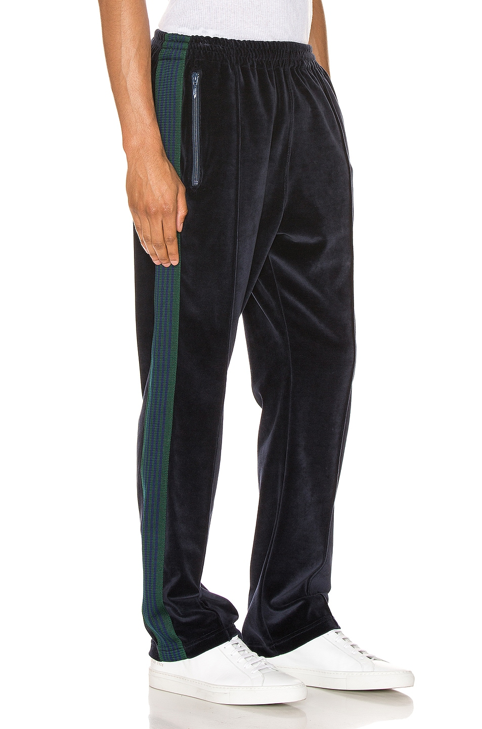 Image 3 of Needles Narrow Track Pant in Navy