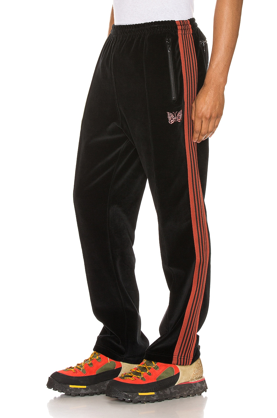 Image 1 of Needles Narrow Track Pant in Black