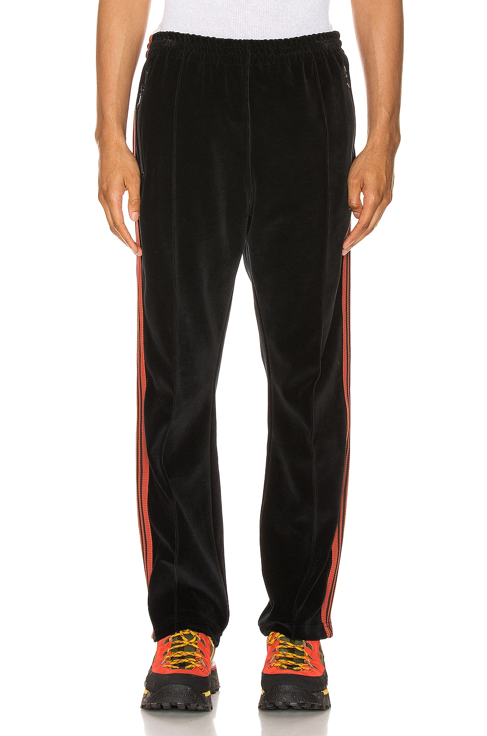 Image 2 of Needles Narrow Track Pant in Black
