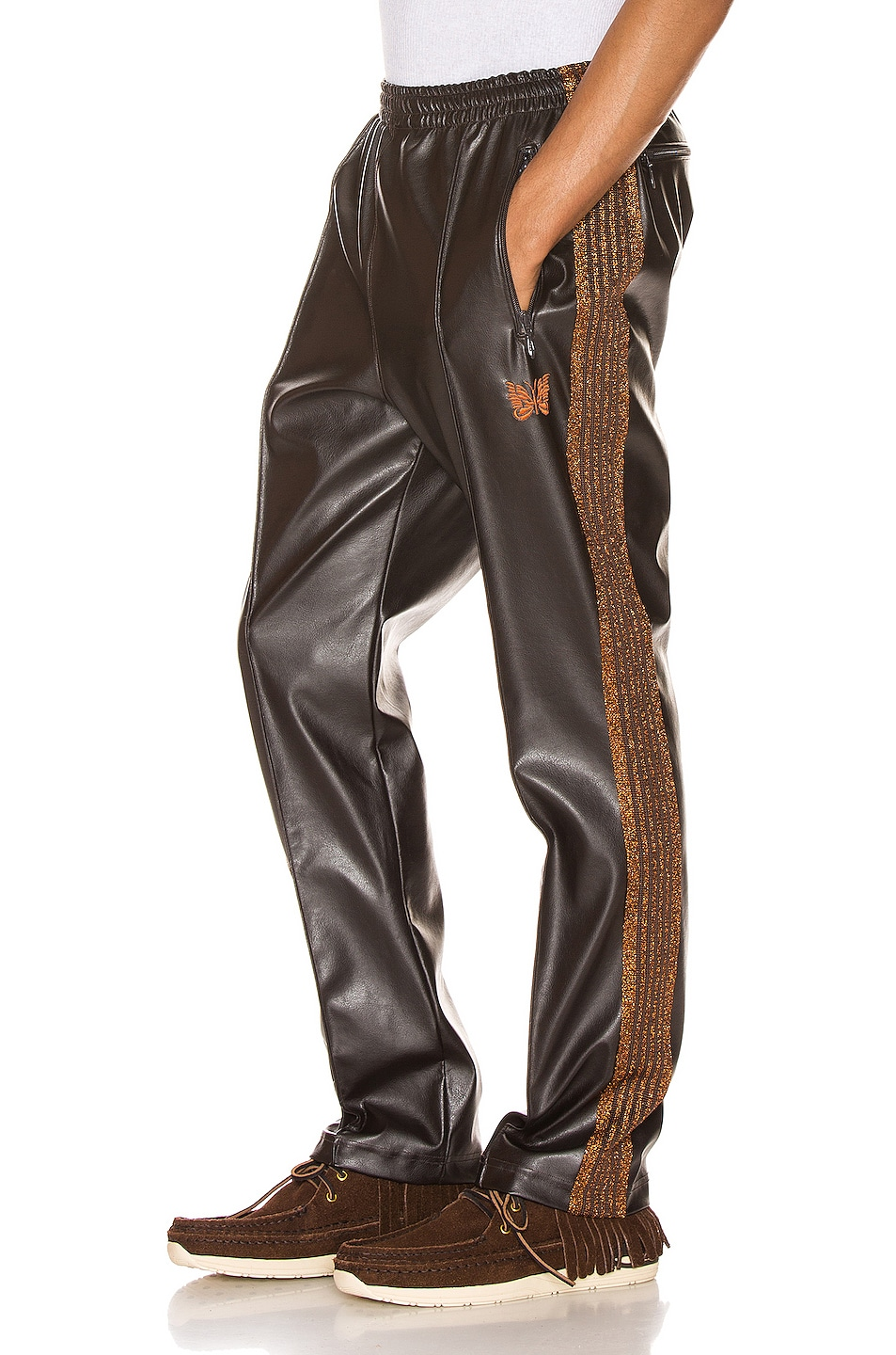 Image 1 of Needles Track Pant in Brown