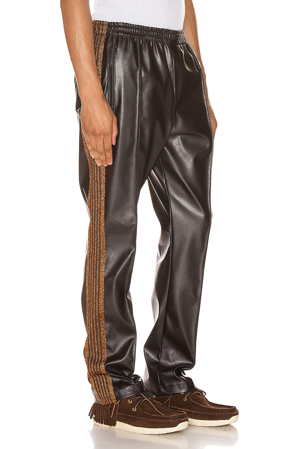 Image 3 of Needles Track Pant in Brown
