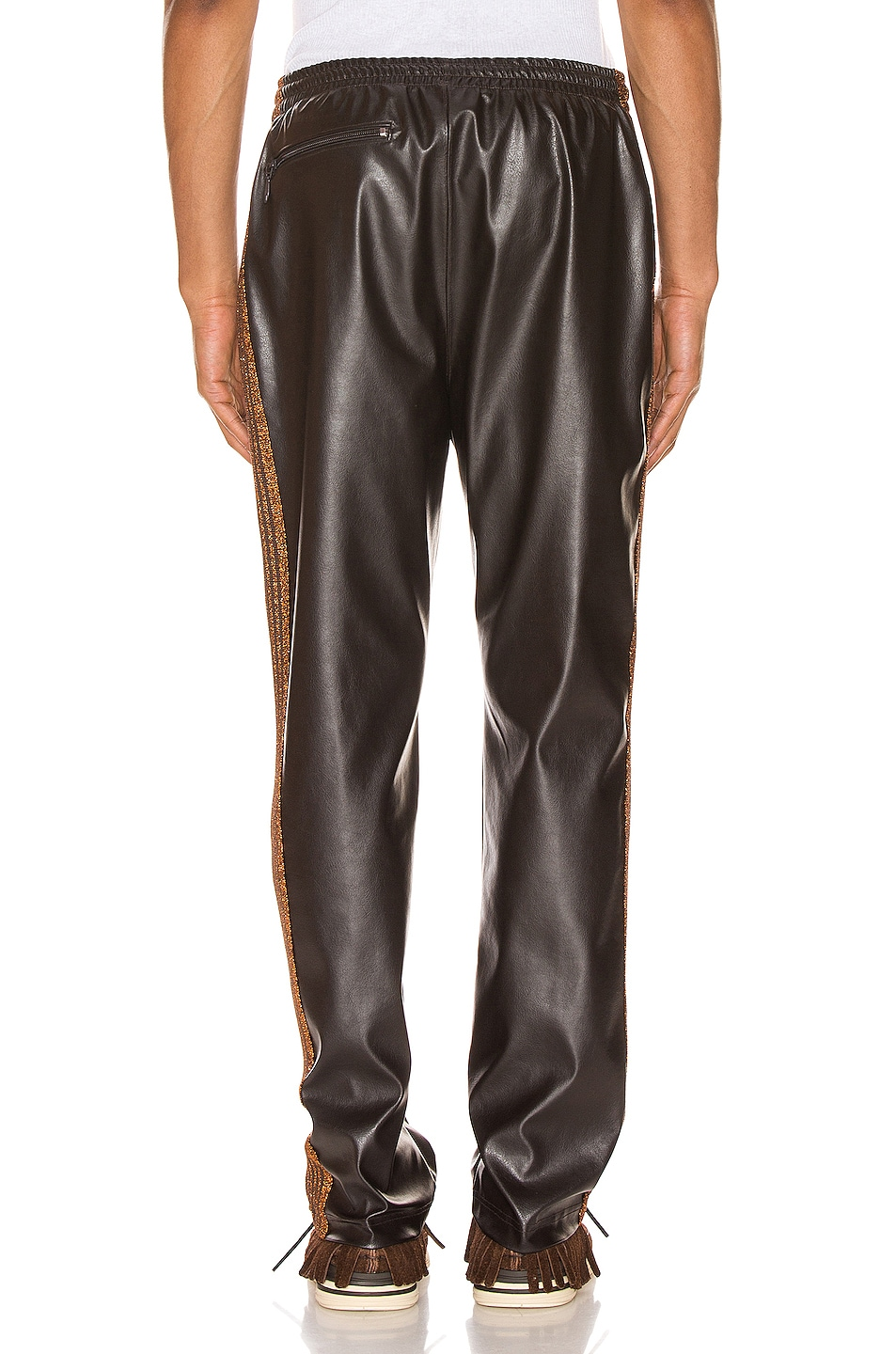 Image 4 of Needles Track Pant in Brown