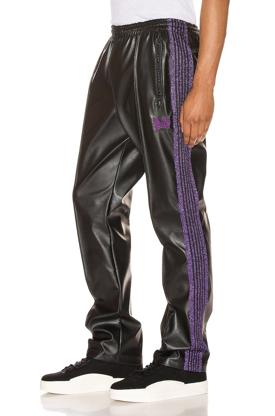 Image 1 of Needles Track Pant in Black
