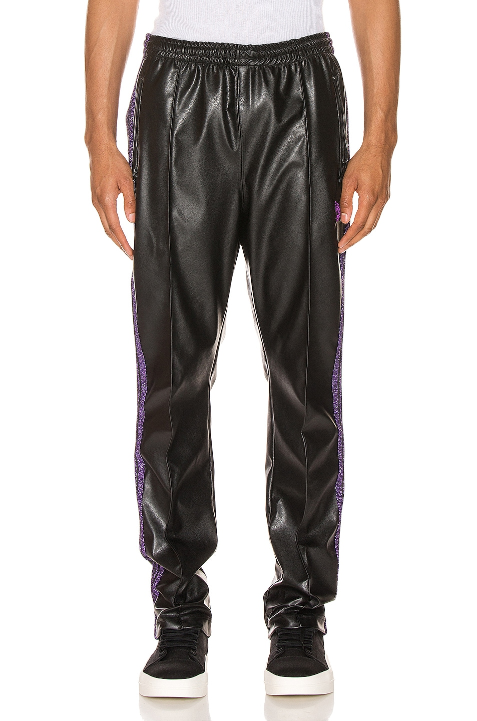 Image 2 of Needles Track Pant in Black