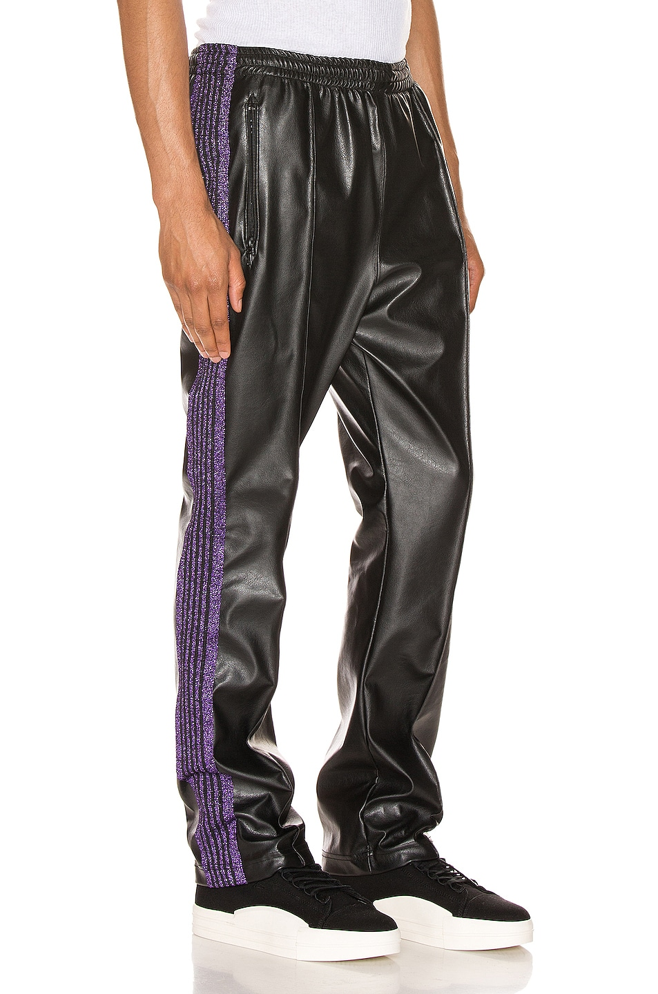 Image 3 of Needles Track Pant in Black