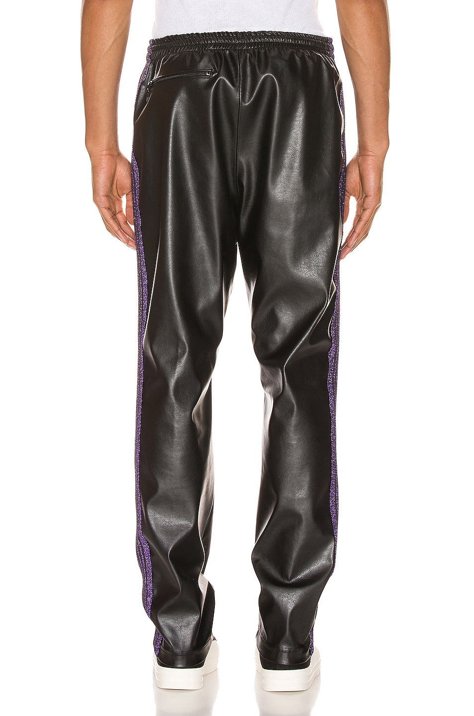 Image 4 of Needles Track Pant in Black