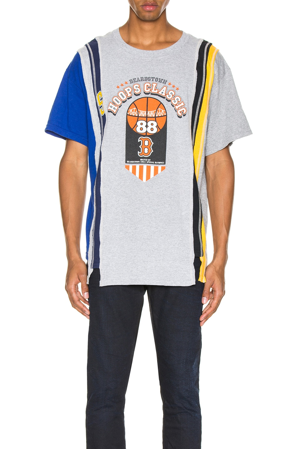 Image 1 of Needles 7 Cuts Wide College S/S Tee in Assorted