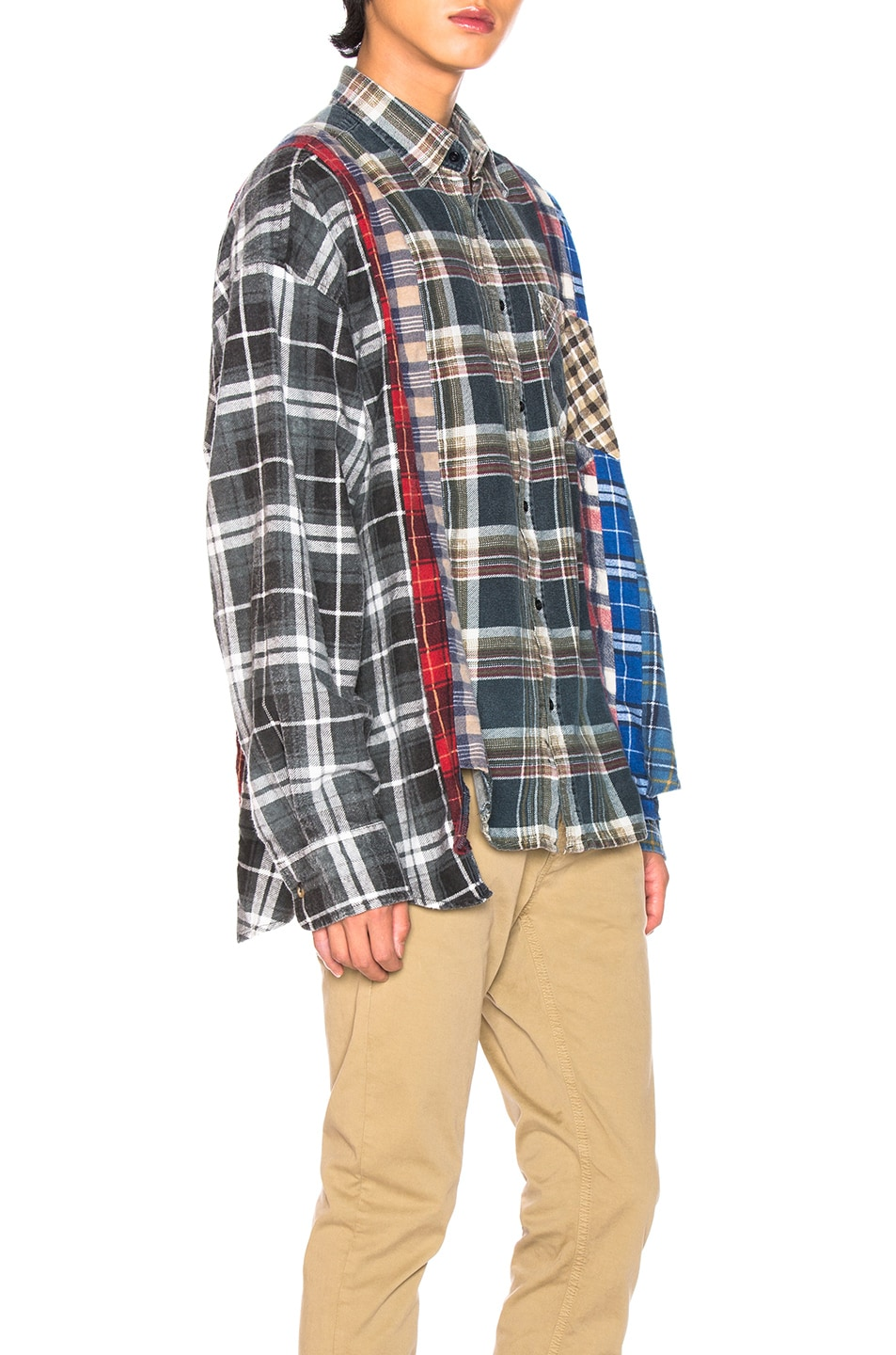 Image 2 of Needles Wide 7 Cut Flannel in Assorted