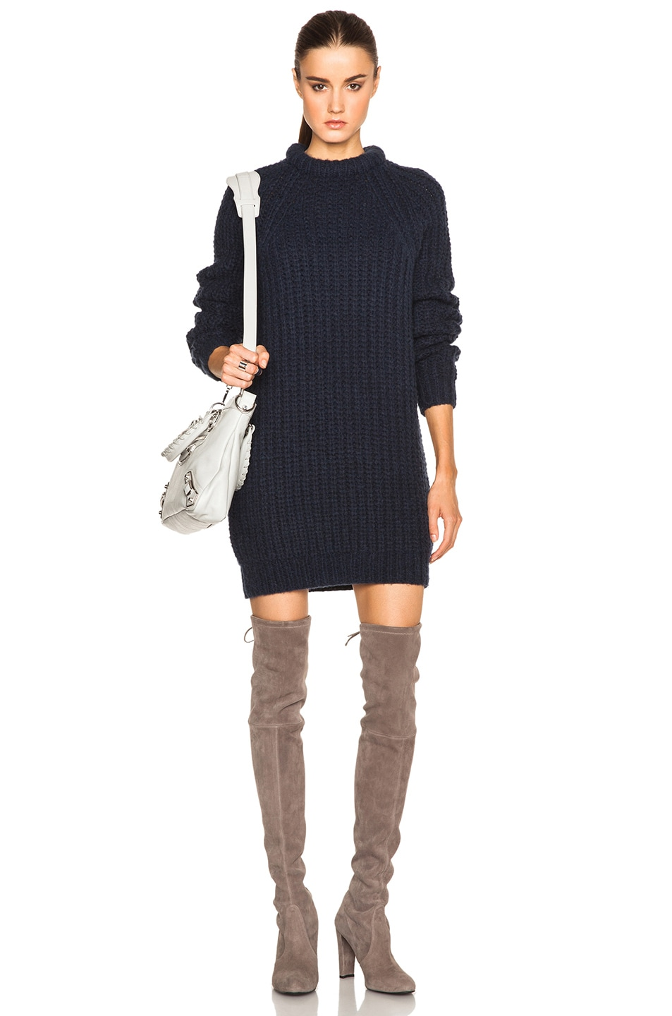 46fec14fe NLST Fisherman Sweater Dress in Navy