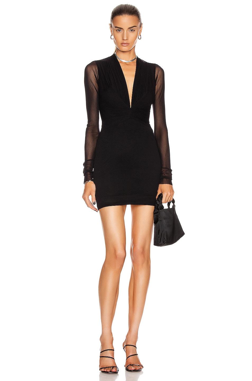 Image 1 of Noam for FWRD Verdon Dress in Black