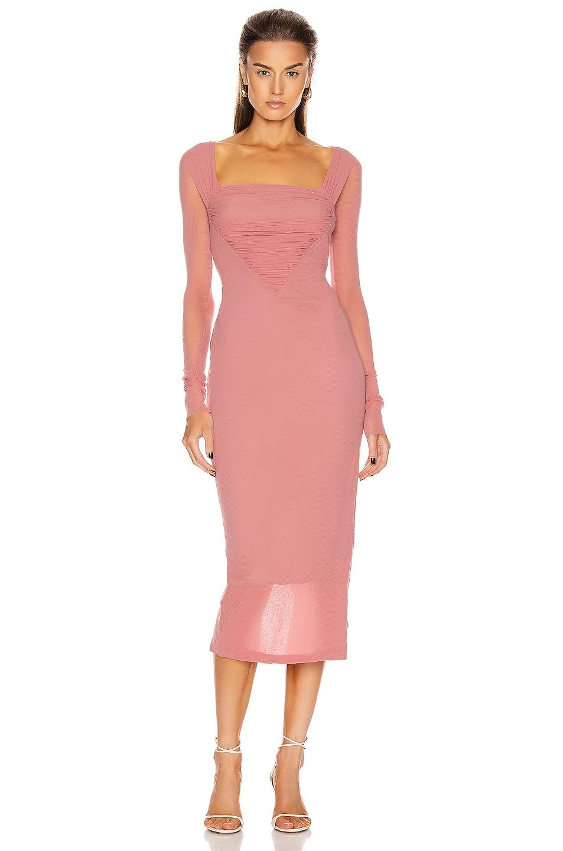 Image 1 of Noam for FWRD Ferri Dress in Terra