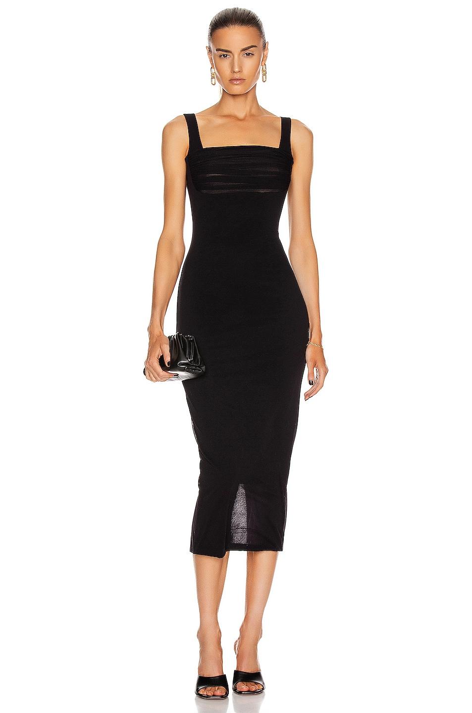 Image 1 of Noam for FWRD Erina Dress in Black