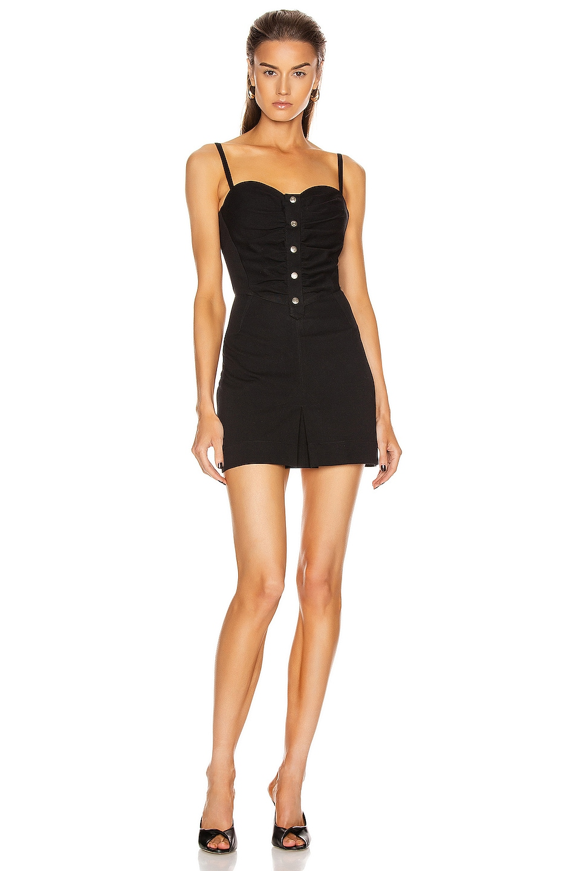 Image 1 of Noam for FWRD Sylvie Dress in Black