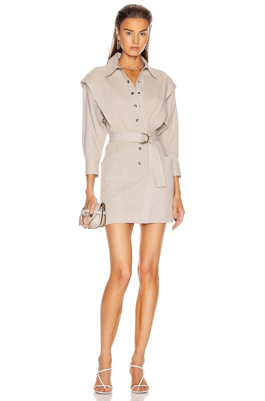 Image 1 of Noam for FWRD Jeannie Dress in Bone
