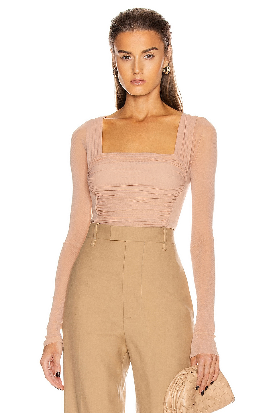 Image 1 of Noam for FWRD Isabella Top in Nude