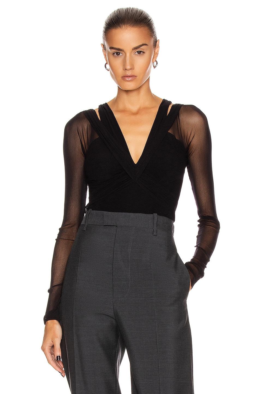 Image 1 of Noam for FWRD Daria Bodysuit in Black