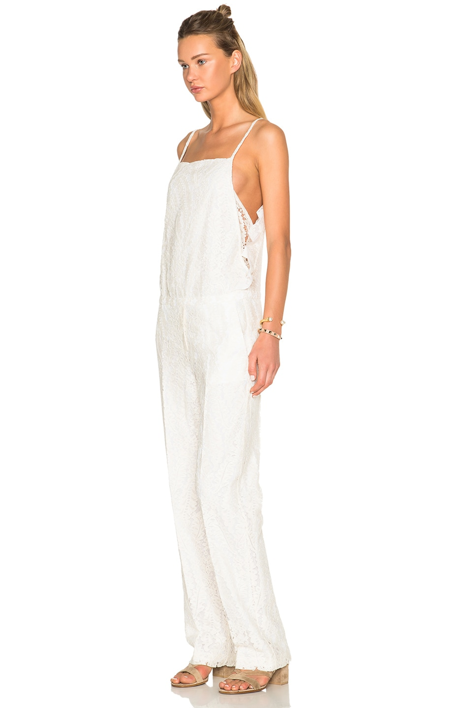 Image 2 of No. 21 Jumpsuit in White
