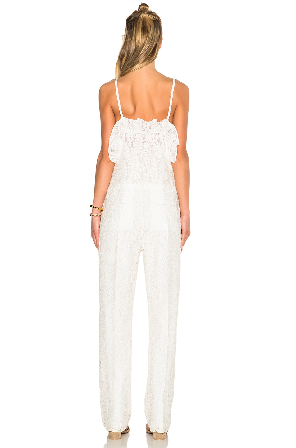 Image 4 of No. 21 Jumpsuit in White