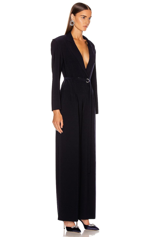 Image 2 of Norma Kamali Straight Leg Jumpsuit in Midnight