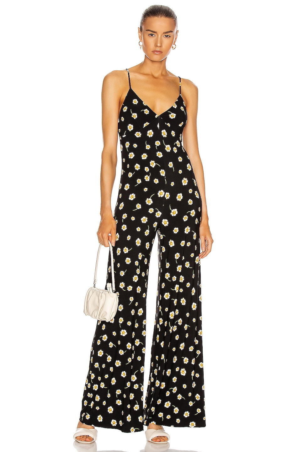 Image 1 of Norma Kamali Slip Jumpsuit in Daisy