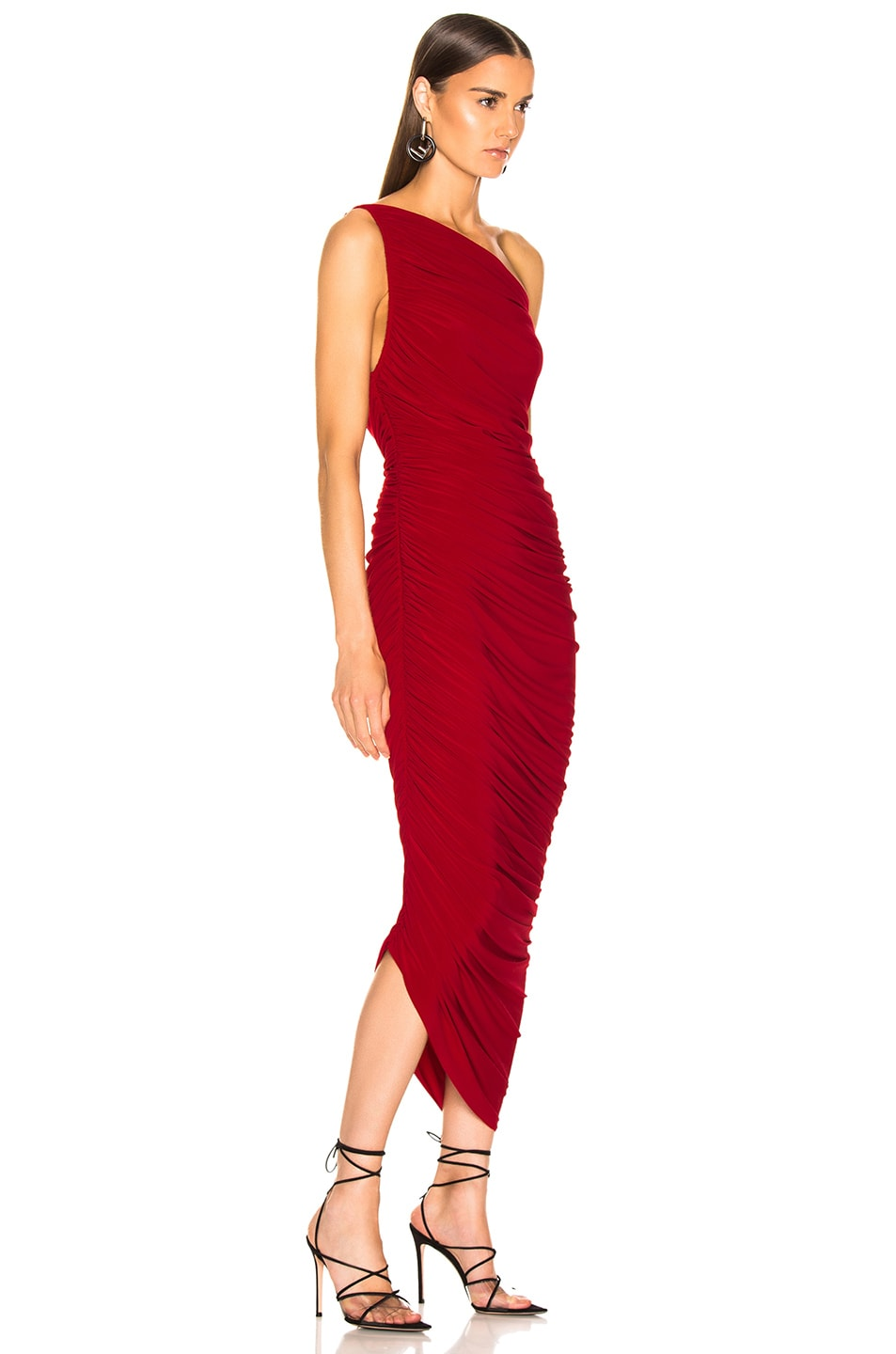 Image 2 of Norma Kamali Diana Gown in Red
