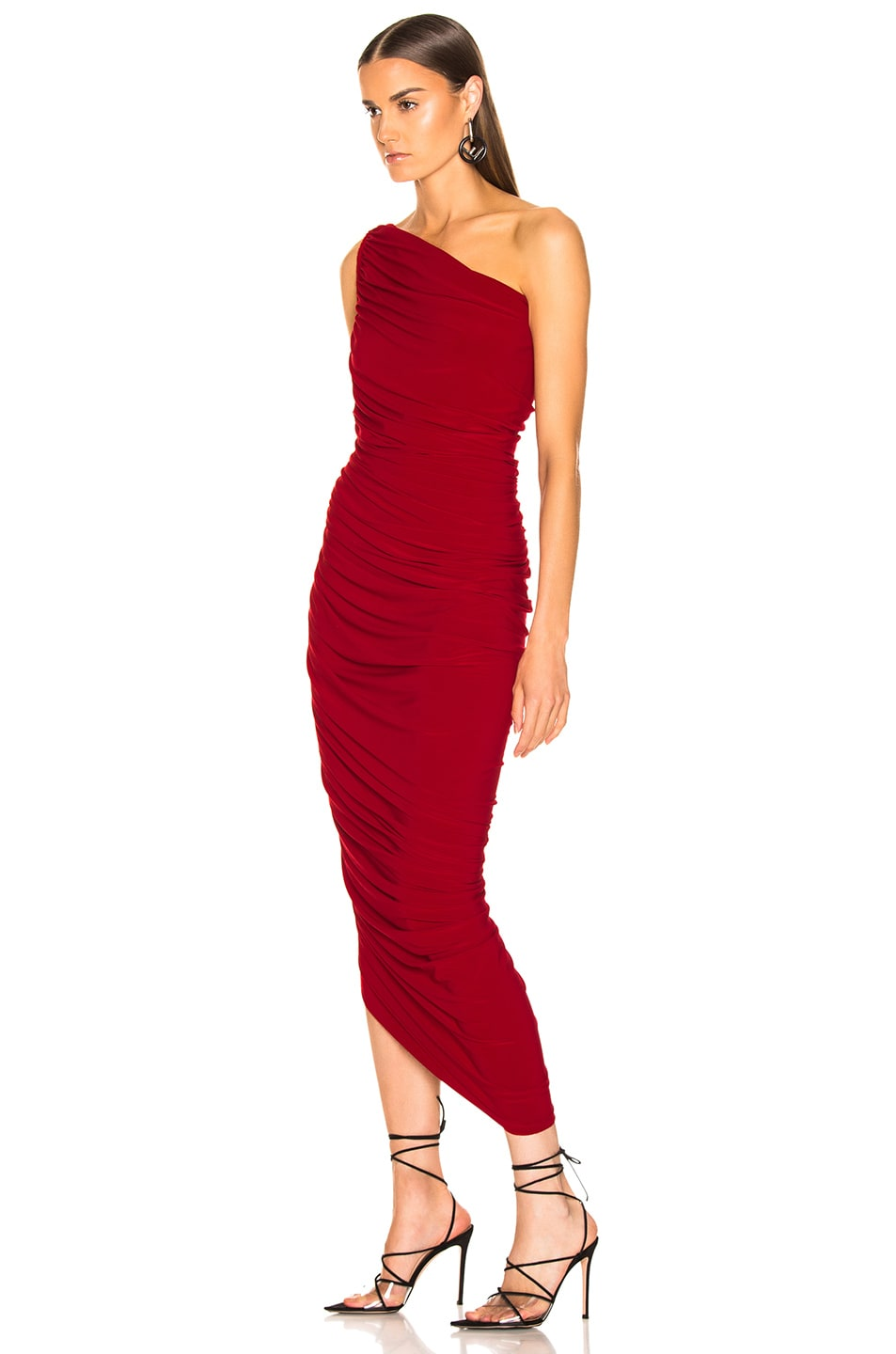 Image 3 of Norma Kamali Diana Gown in Red
