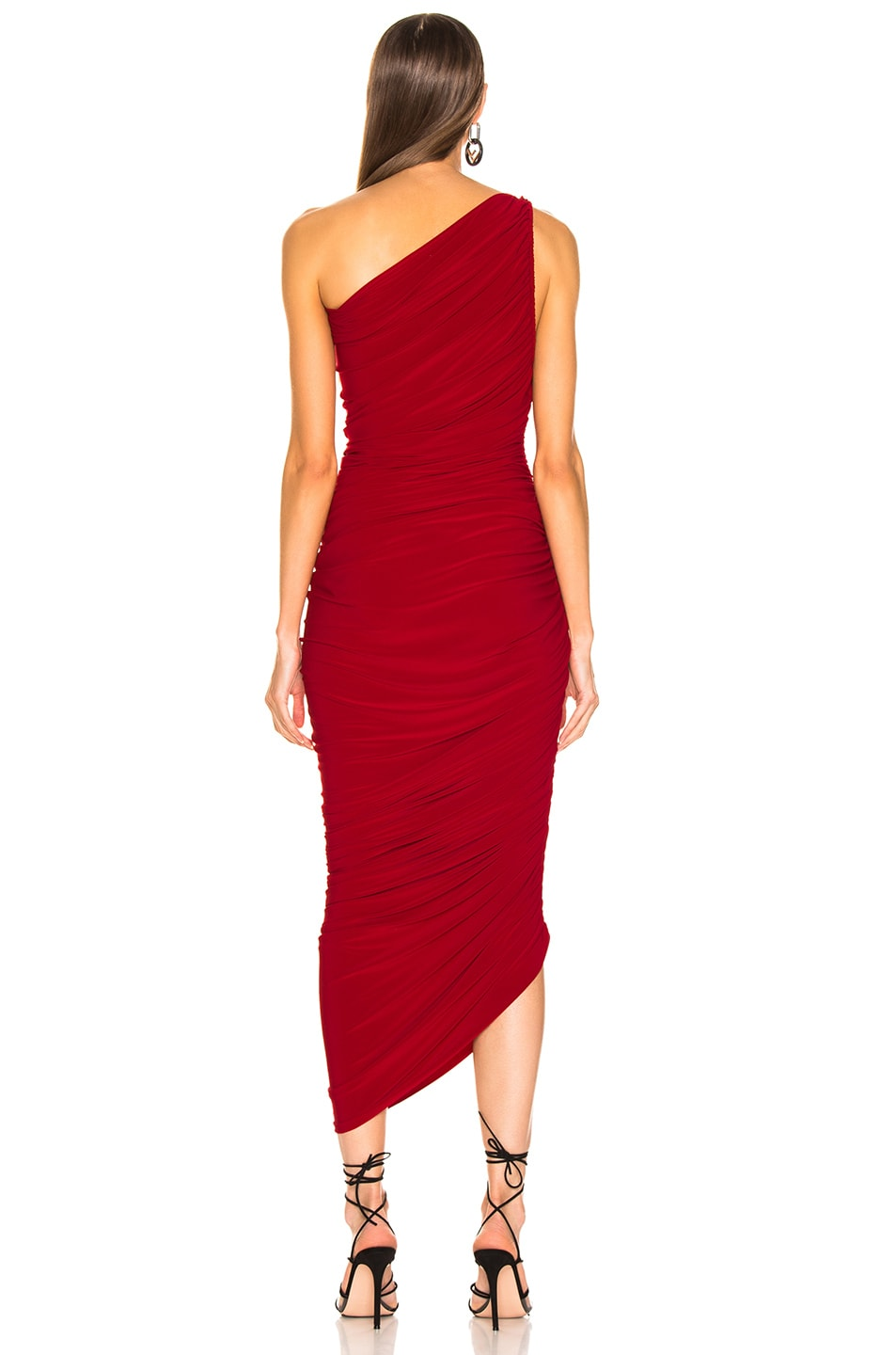 Image 4 of Norma Kamali Diana Gown in Red