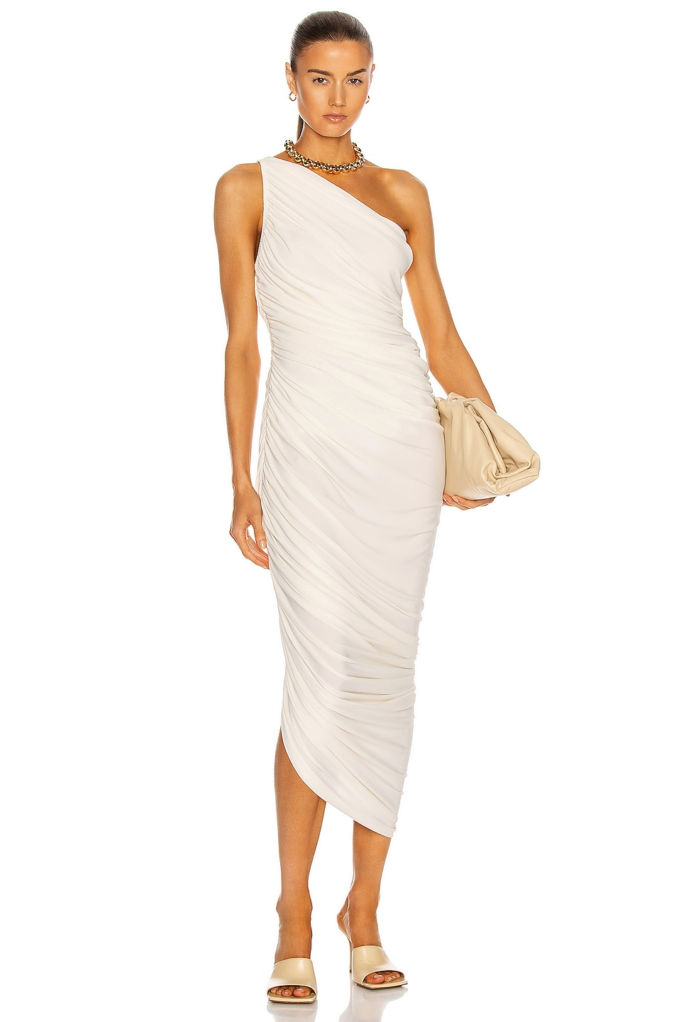 Image 1 of Norma Kamali Diana Gown in Ivory