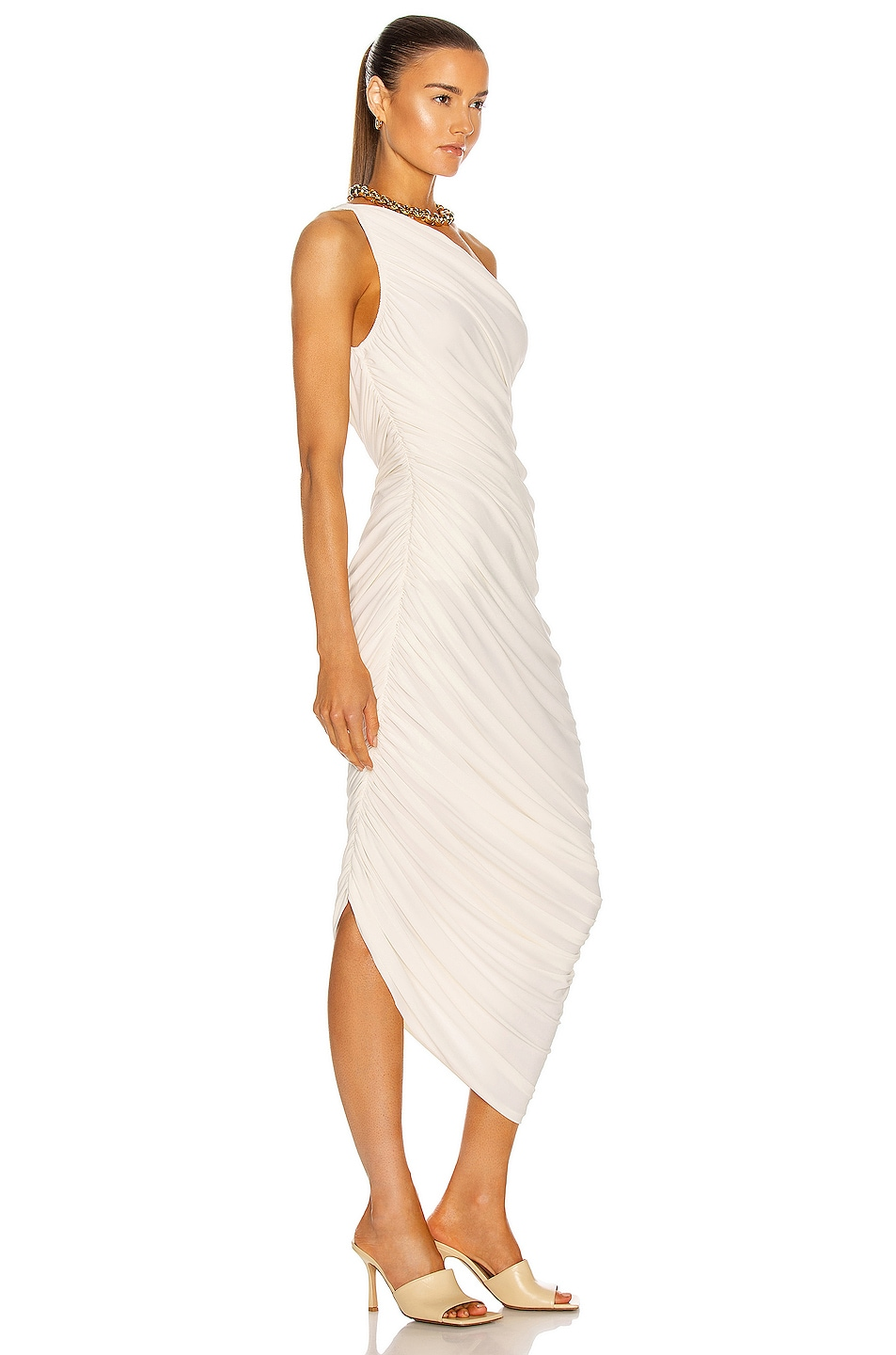 Image 2 of Norma Kamali Diana Gown in Ivory