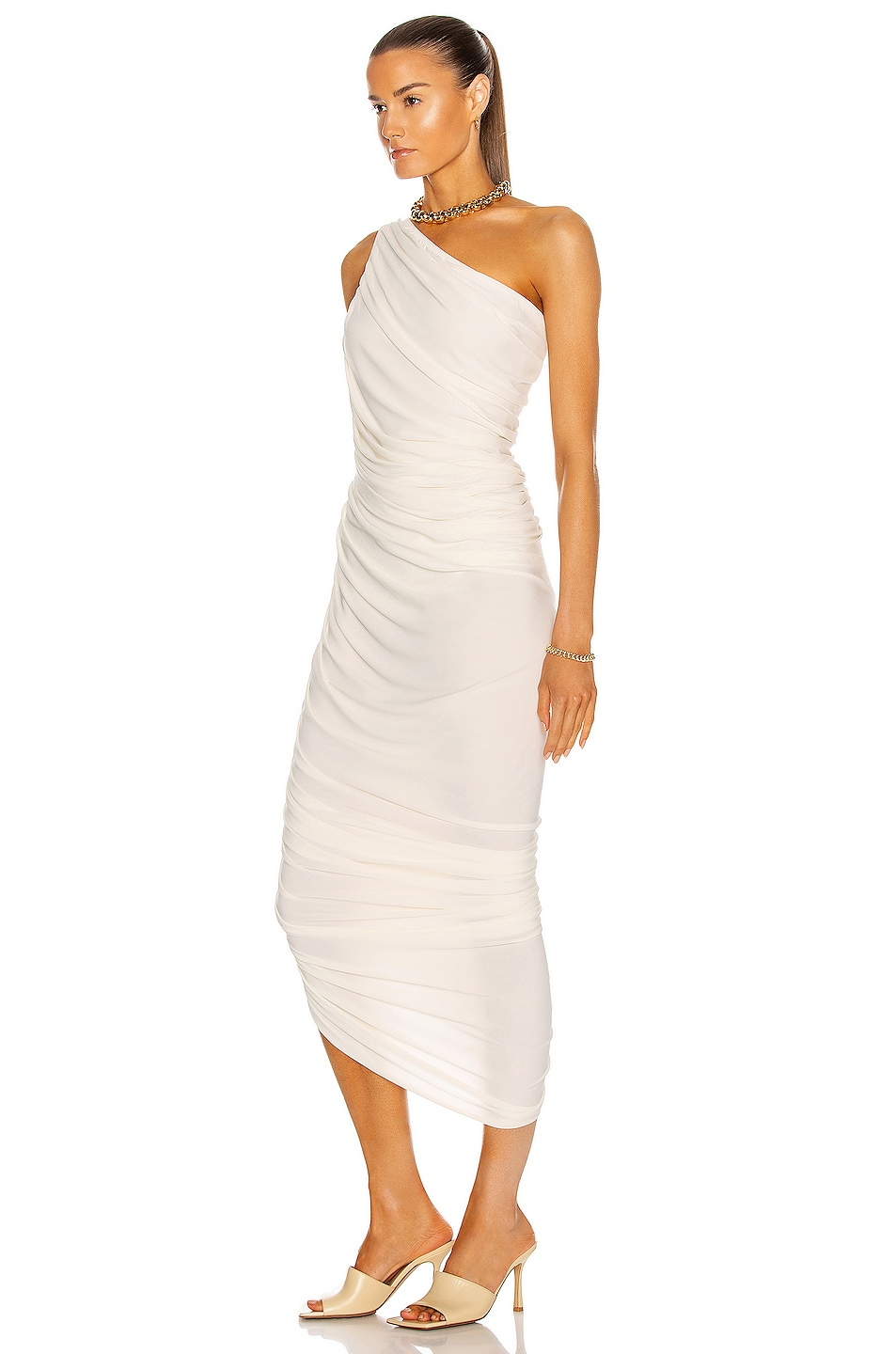Image 3 of Norma Kamali Diana Gown in Ivory