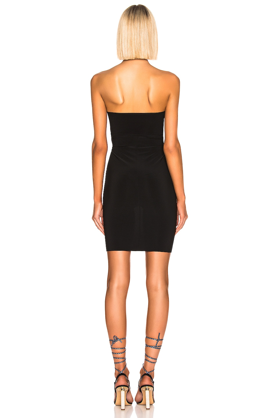 Image 3 of Norma Kamali Mini Tube Dress in Black