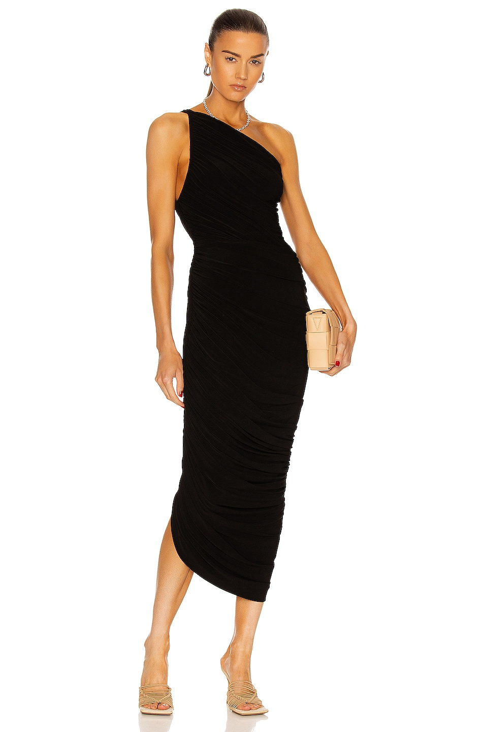 Image 1 of Norma Kamali Diana Gown in Black