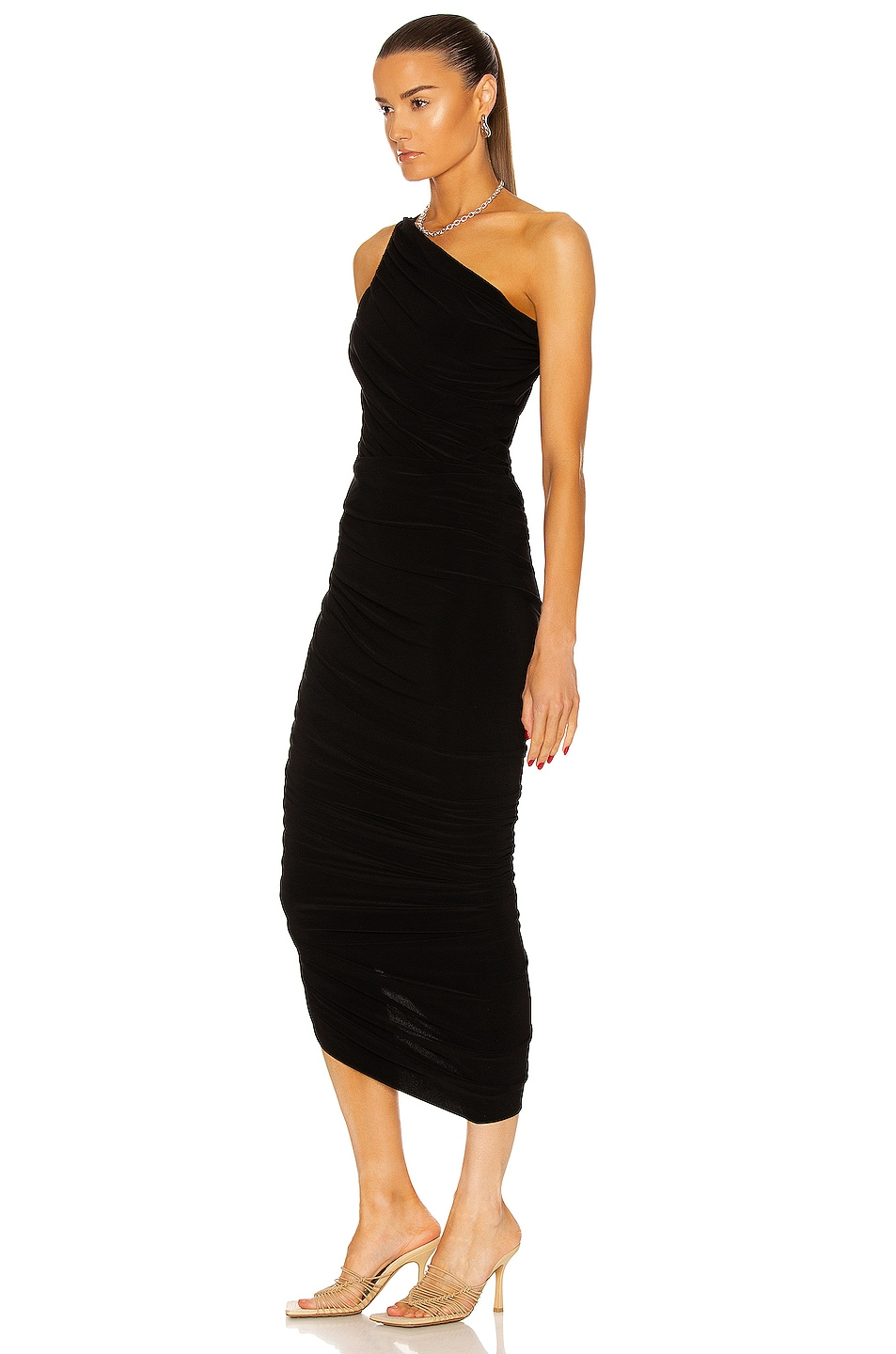 Image 3 of Norma Kamali Diana Gown in Black